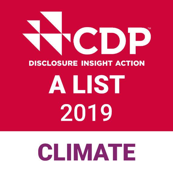 Logo CDP Climate A list 2019