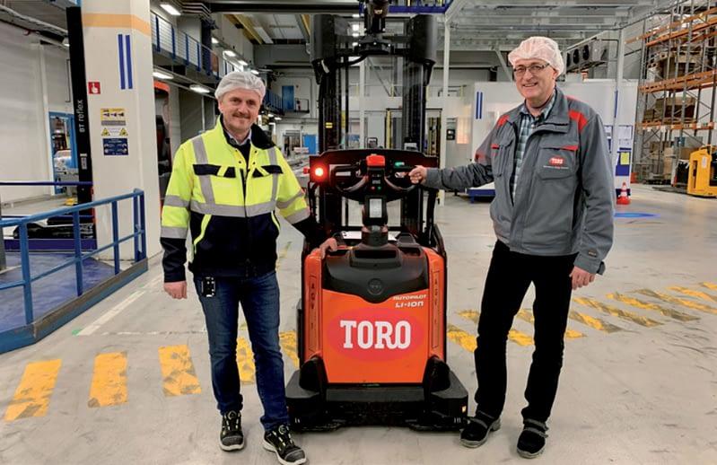 Vozíky Toyota v Toro